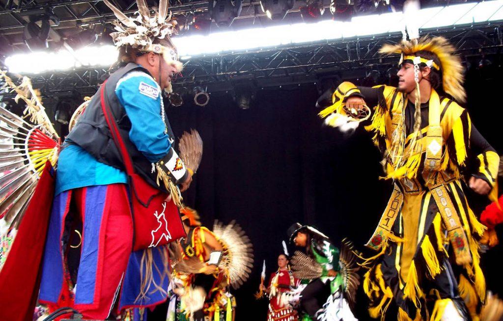 Pow-wow à Kahnawake